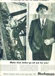 Richman Brothers Clothes Ad 1963