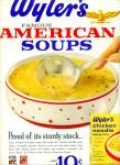 Wyler's Chicken Noodle Soup Mix Ad 1963