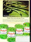 Stokely Green Beans Ad 1965