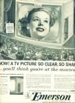 Emerson Television Ad 1953