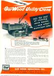 Gar Wood Industries Inc., Ad -1948