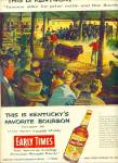 Early Times Whisky Ad - 1954