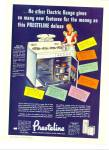 Presteline Automatic Electric Range Ad 1948