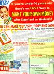 Wallace Brown Inc. Money Making Project Ad