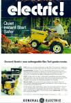 General Electric Elec-trak Garden Tractor Ad