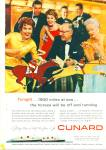Cunard Liner Ad