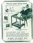 John Stuart Inc. Trays Ad 1955