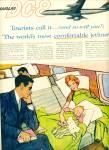 1959 Douglas Dc-8 Jetliner Ad Art Sip