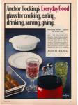 1970 Anchor Hocking Wexford - Milk Glass Ad