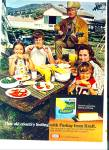 Parkay Margarine Ad Buddy Ebsen And Family