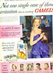 1950 Camel Cigarettes Ad Thomas Phipps Throat