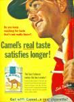 1965 Camel Cigarette Ad Jack Brothers Fisher