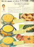 3 Cream Soups Ad -campbell's Soups Ad 1952