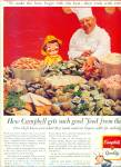 1964 Campbell's Soup Ad Chef - Clams