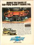 Chevrolet Trucks Ad 1979