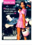 1996 Virginia Slims - Pretty In Pink - Ad