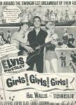 Elvis Presley Girls Girls Girls Movie Ad