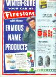 Firestone Winter Sure Products Ad 1952