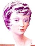 Asian Lady Head Bust- Mid-century Style Oriental Lady Head Statue