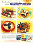 1959 Sunsweet Prunes Ad Sugarplums Of Christm