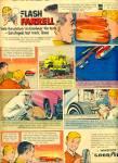 1965 Goodyear Tire Flash Farrell Comic Ad