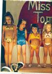 1978 Little Miss Pink Tomato Girl Swimsuit Ad