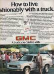 Gmc Trucks Ad 1984
