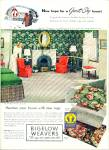 Bigelow Weavers Ad 1947 Vintage Decor