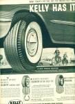 Kelly Springfield Tires Ad 1958