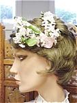 1950's Vintage Pink Floral Hat Bridal Party