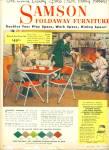 1953 - Samson Foldaway Furniture Ad