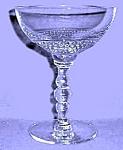 Duncan And Miller Teardrop Champagne Sherbet Goblet