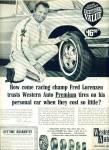 1966 - Western Auto Tires Ad