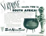 1952 - South African Tourist Ad