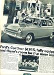 1966 - Ford Cortina Auto Ad