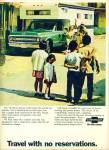 1970 - Chevrolet Travel Ad