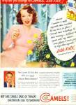 1951 - Camels Cigarettes - Lisa Kirk