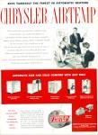 1948 - Chrysler Airtemp Ad
