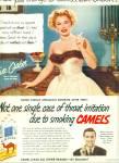 1952 - Camels Cigarettes - Eva Gabor