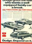 1971 - Dodge Automobiles Ad
