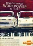 1965 - Chevrolet Trucks For 1966