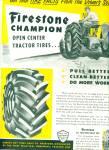 1952 - Firestone All Traction Truck Tire Ad
