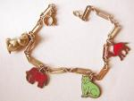 Charming Animal Charm Bracelet