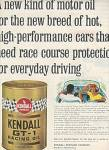 Kendall Racing Oil Ad