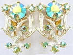 Amazing Aurora Borealis Branch Earrings