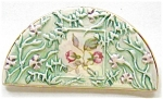 Pretty Pastels Porcelein Vines & Flowers Brooch