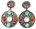 Exotic Ethnic Earrings W Stones
