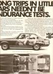 Chevrolet Vega Ad 1972