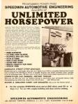 Speedwin Automotive Engineering Ad 1969