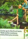 1967 - Kool Cigarettes Ad